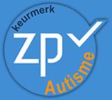 Logo keurmerk ZP oké autisme
